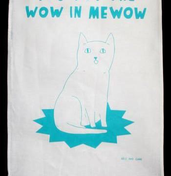 Cheltenham Cat Rescue Tea Towel