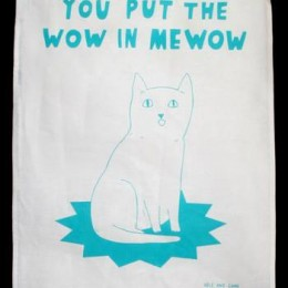 Cheltenham Cat Rescue Tea Towels