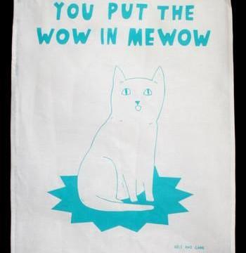 Cheltenham Cat Rescue Tea Towels