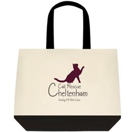 Cheltenham Cat Rescue, Small Cat Tote Bag